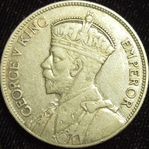 1936 Fiji George V Florin VF #199