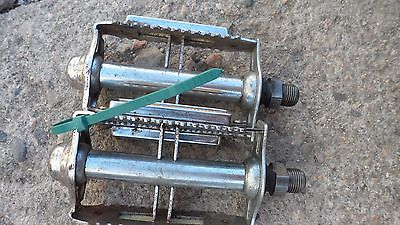 Vintage MKS RT-7 Bicycle Pedals 9/16 Free Shipping Item #2