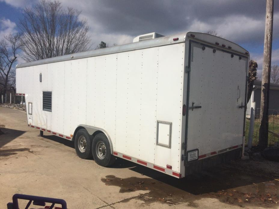 30 foot spray foam insulation trailer, spray foam insulation rig, Graco Exp-2