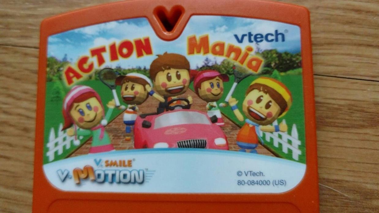 VSmile VMotion 1 Game Action Mania