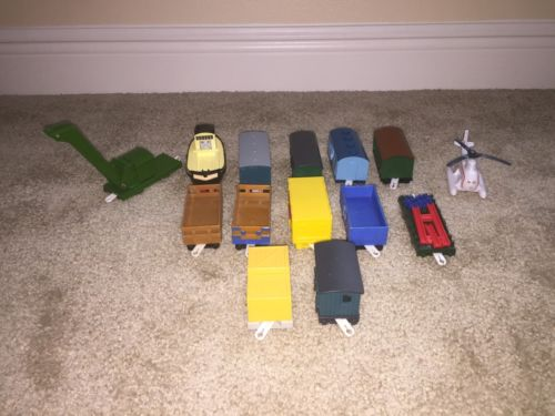 Lot of Thomas Train Tomy Trackmaster Passenger Coaches Cargo Plastic