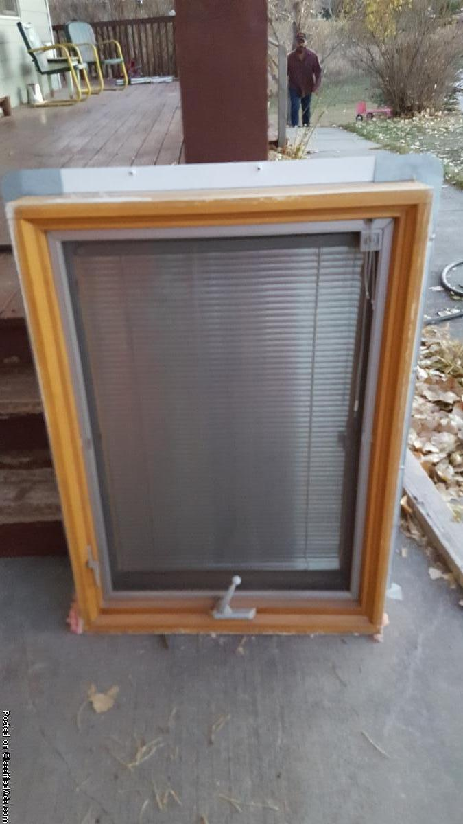 Wood window blind for sale classifieds for Wood windows for sale online
