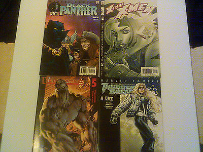 MARVEL 25 LOT SPIDER-MAN BLUE E-TREME X-MEN X-FORCE UNCANNY X-MEN