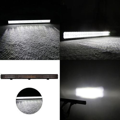 390W OSRAM LED Work Light Bar FLOOD SPOT OFFROAD DRIVING LAMP Truck SUV JEEP CAR