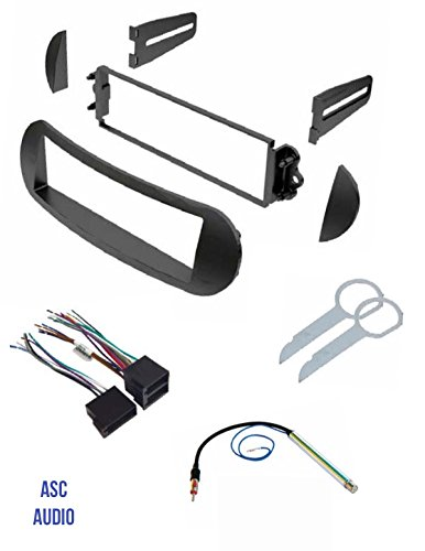 ASC Car Stereo Dash Kit, Wire Harness, Antenna Adapter, and Radio Tool for
