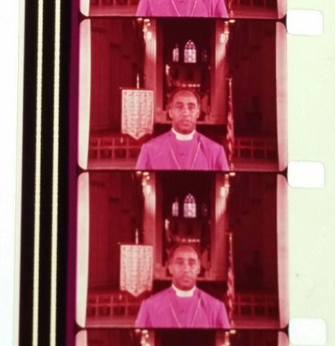 16mm TV FILM SPOT 1978 WASHINGTON EPISCOPAL BISHOP JOHN WALKER BLACK AMERICANA