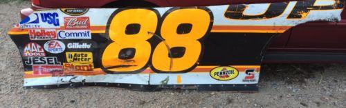 Dale Jarrett 88 UPS Side NASCAR Race Used Sheet Metal