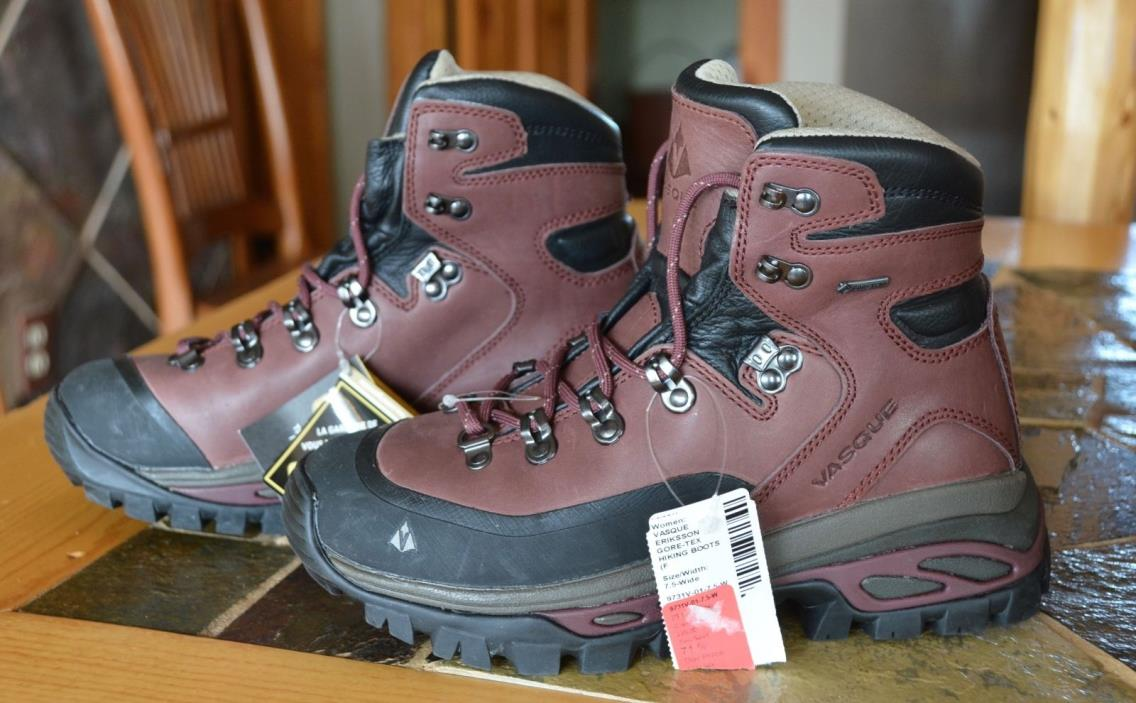 Vasque Eriksson GTX Gore-tex Backpacking Hiking Boot Womens 7.5 Wide