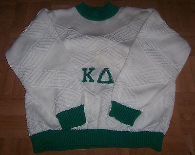 Kappa Delta Sorority Lg Sweater Cardigan, Also XLarge available NEW
