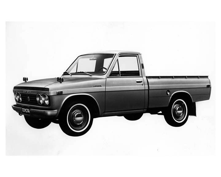 1970 Toyota Hilux Pickup Truck ORIGINAL Factory Photo oub2253