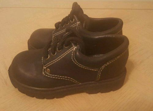 the childrens store toddler boys size 7 black dress shoes