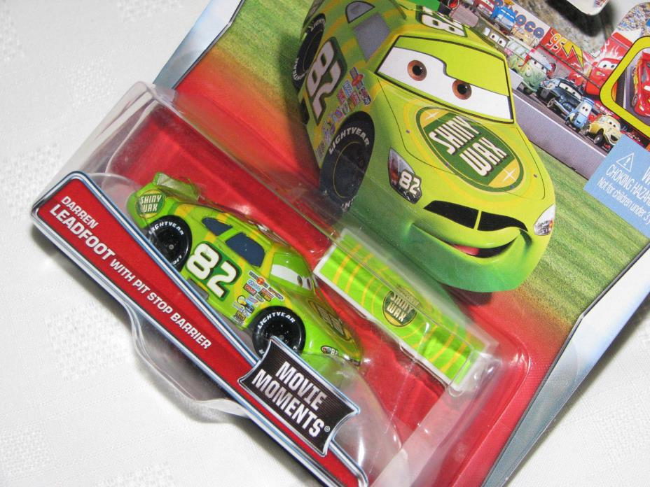 Disney Cars Movie Moments Darren Leadfoot - BNIP