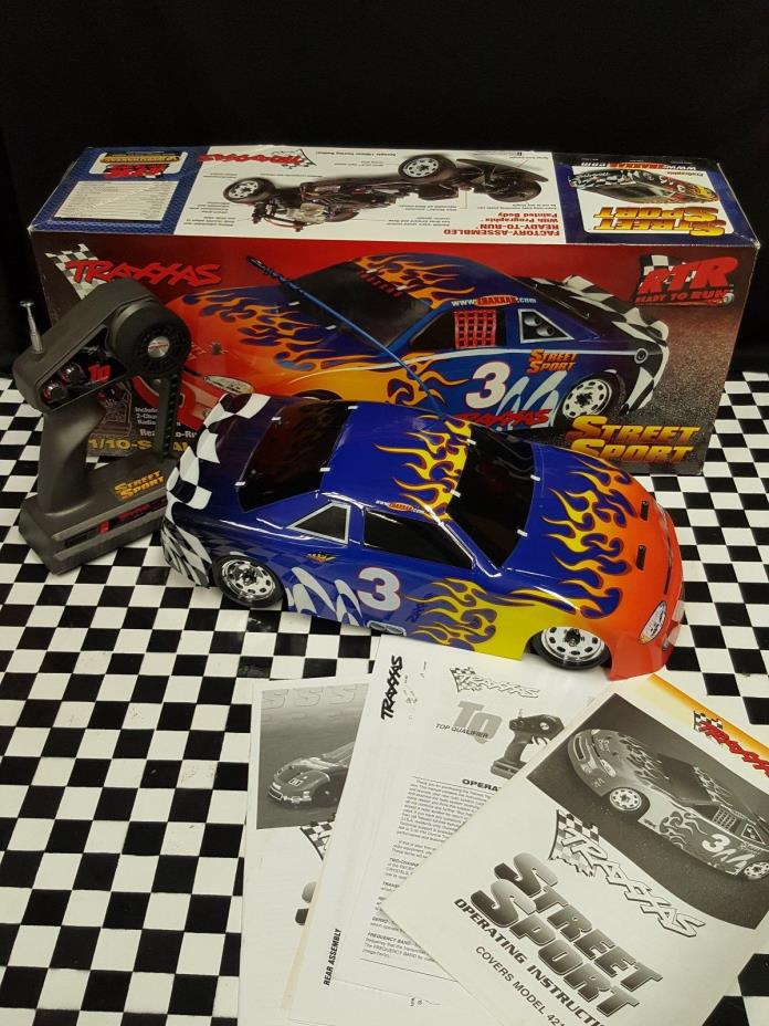 Traxxas Street Sport Vintage only used once in amazing shape collectable.