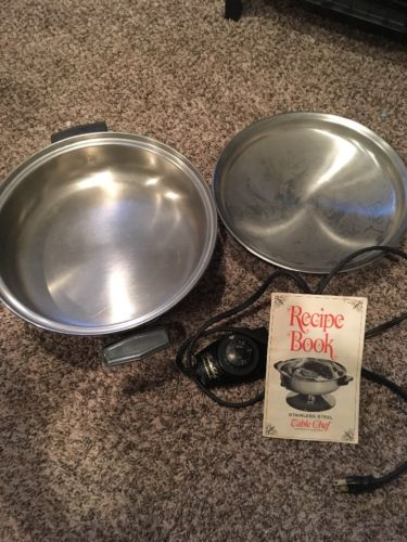 Gracious Lady Electric Frying Pan 11