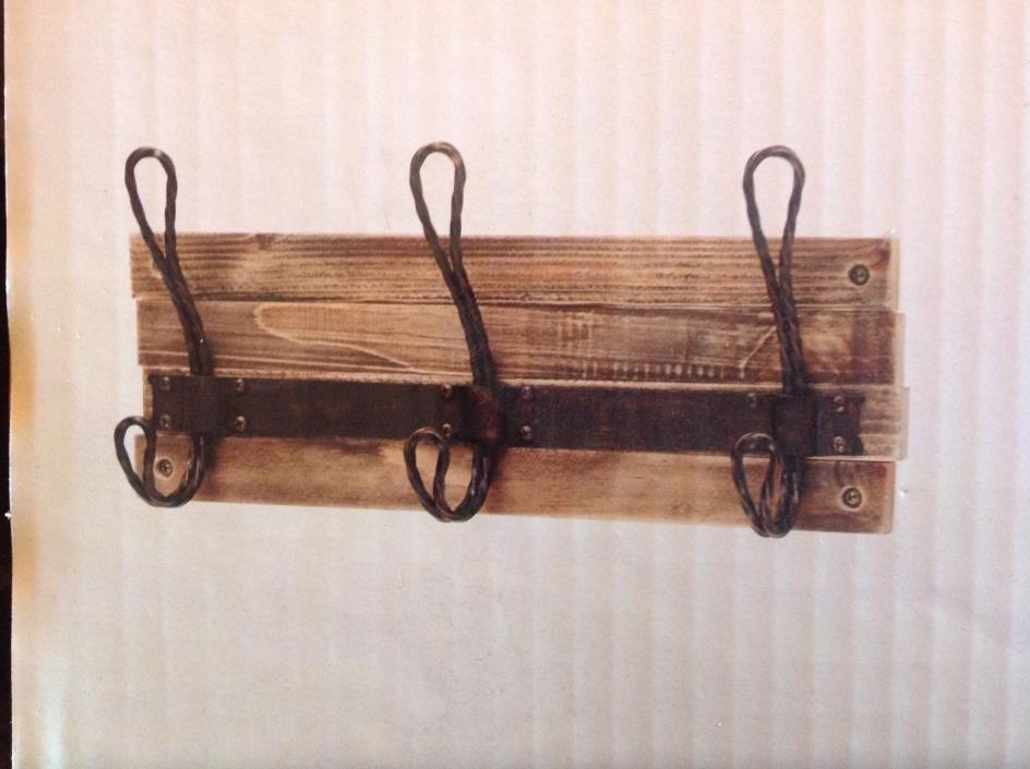 Home Decorators Collection 14in 3 Hooks & Rail Wall Mount