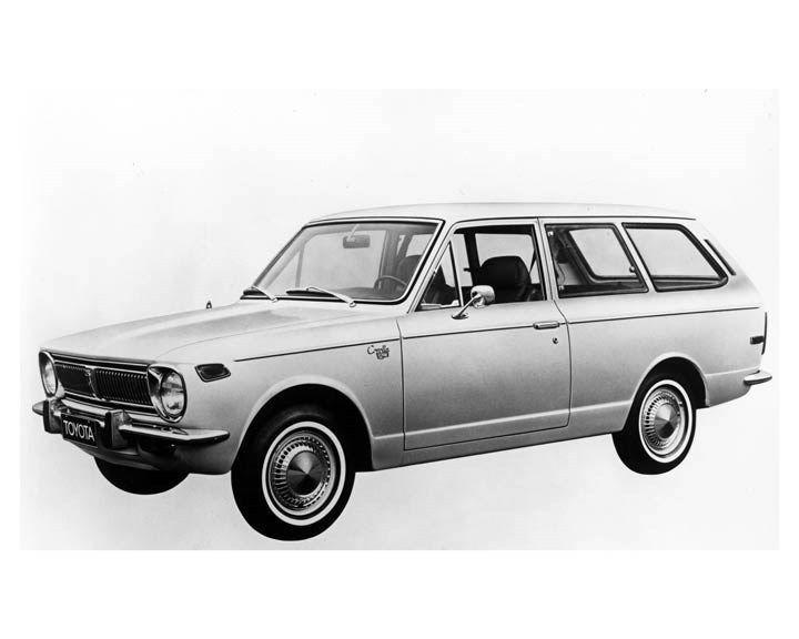 1970 Toyota Corolla 2 Door Station Wagon ORIGINAL Factory Photo oub2256