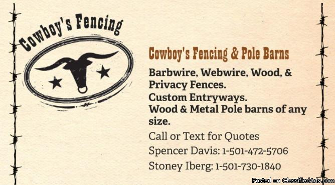 Cowboy's Fencing & Pole Barns