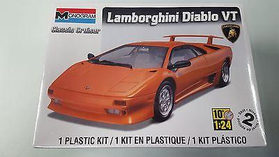 Monogram 85-0889 1/24 Lamborghini Diablo VT Kit
