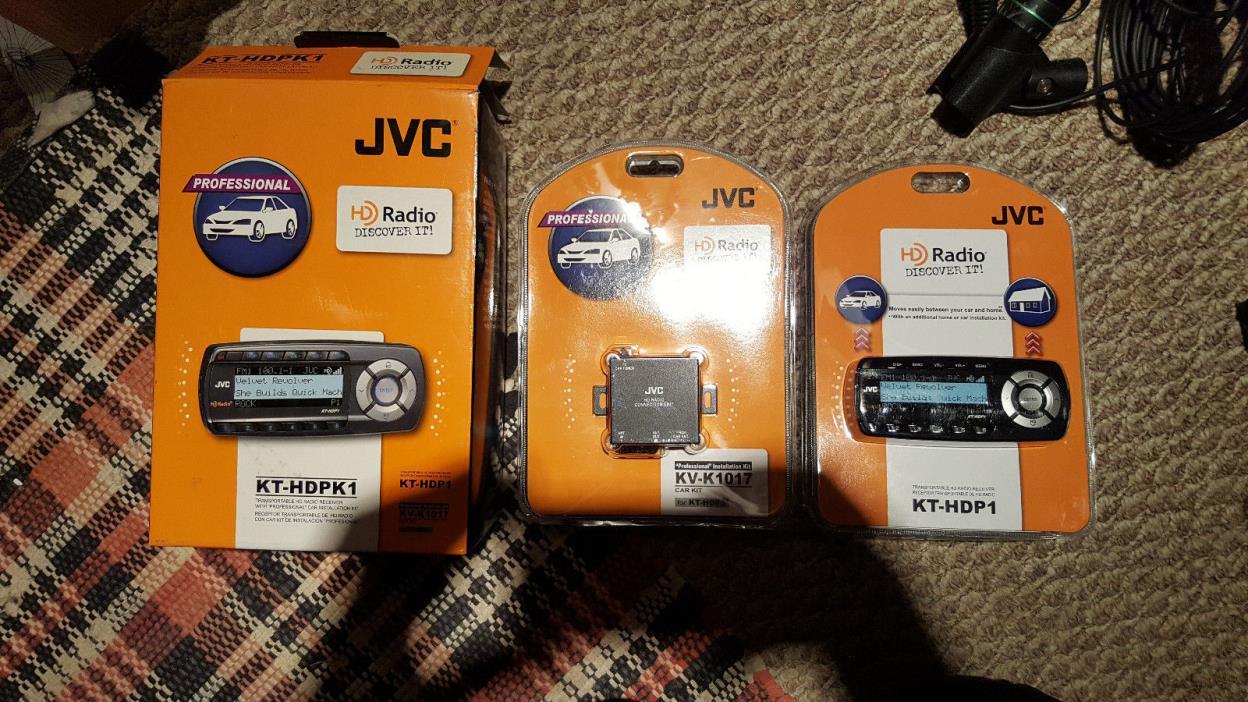 JVC - AM/FM HD Radio Receiver