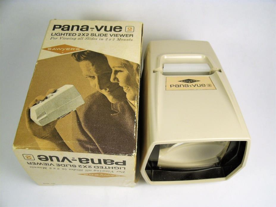 Pana-vue 2 Lighted Slide Viewer in Original Box