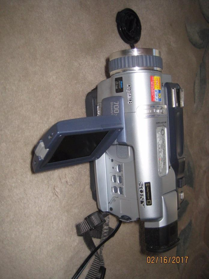 Sony DCR-TRV230 Digital8 Digital 8 HI8 8mm Video8 HI 8 Camcorder Player Camera