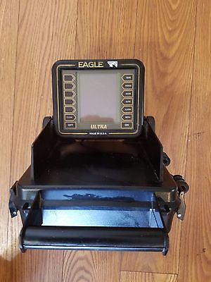 EAGLE ULTRA PORTABLE DEPTH-FISH FINDER  W/ TRANSDUCER  S/N 521966
