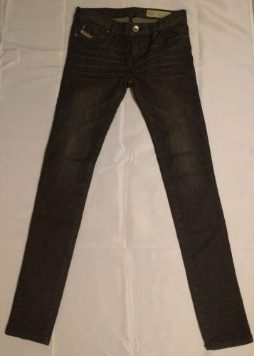 DIESEL Kids Jeans size 12 Super Slim- Skinny Skinzee-Low J Us Girls 12Y Black