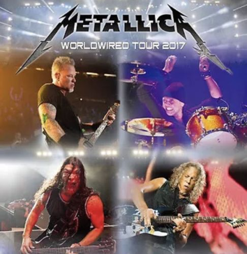 2 Tickets To Metallica's Worldwired Tour 2017, M&T Stadium, Baltimore, May 10th