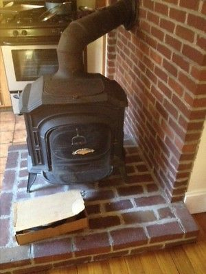 Brookline, MA local pick-up only. Vermont  Castings Resolute Wood Stove. Used .