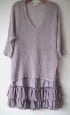 Eileen Fisher ~ French Lavender Sz. S *Skirt & Sweater *preown