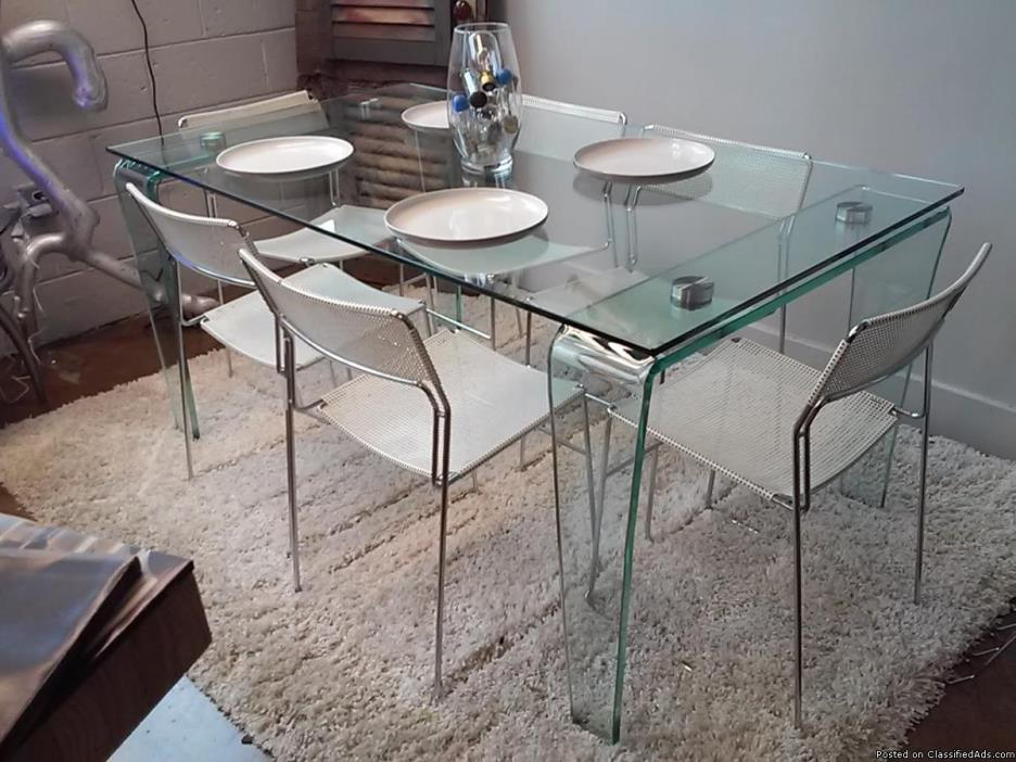Glass Dinette Set
