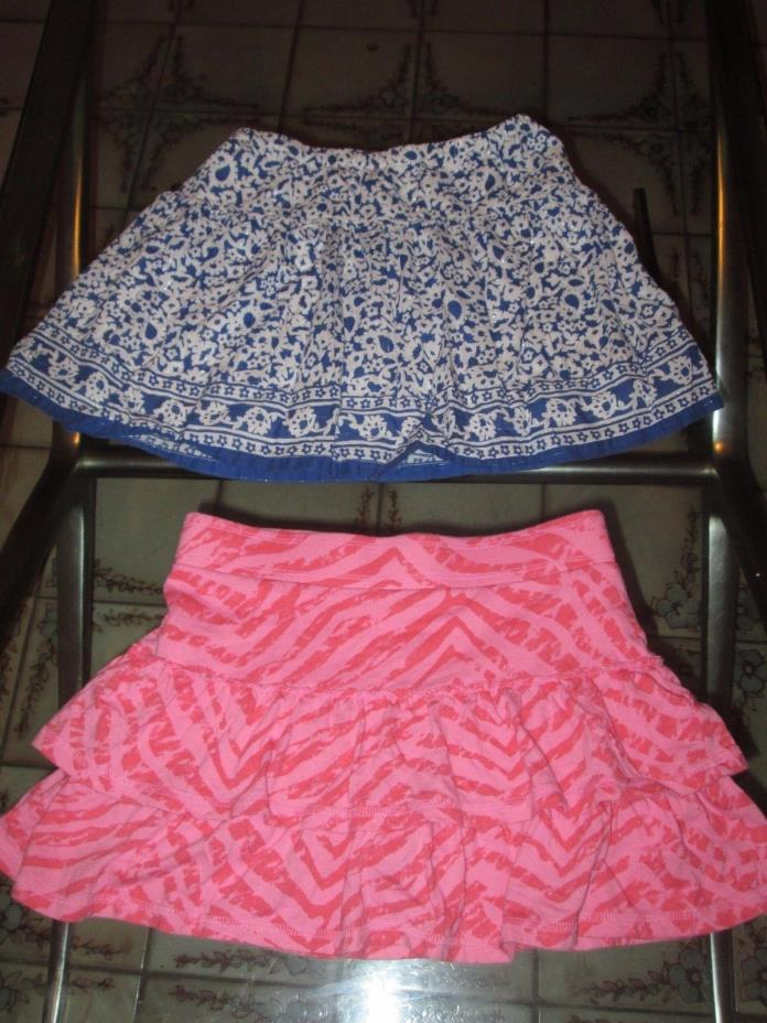 Lot of 2 old navy girls skirts clothes  size 8