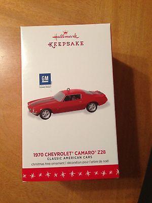 2016 Hallmark 1970 Chevrolet Camaro Z28 Ornament