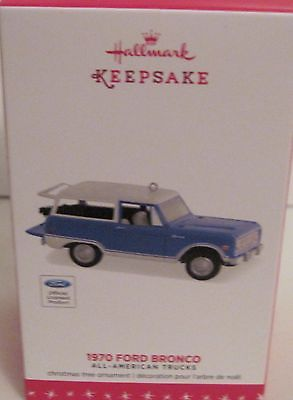 2016 HALLMARK - 1970 FORD BRONCO - 22ND ALL AMERICAN TRUCK SERIES - MINT IN BOX