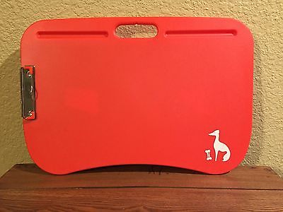Padded Lap Desk with Clip