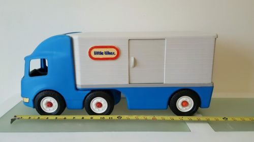 Little Tikes Semi Tractor-Trailer Truck Big Rig Moving Toy
