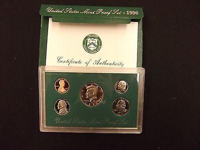 1996 US MINT PROOF 5 COIN SET