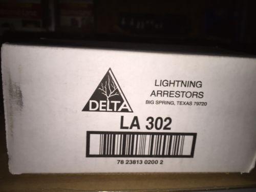DELTA LIGHTNING ARRESTOR LA302