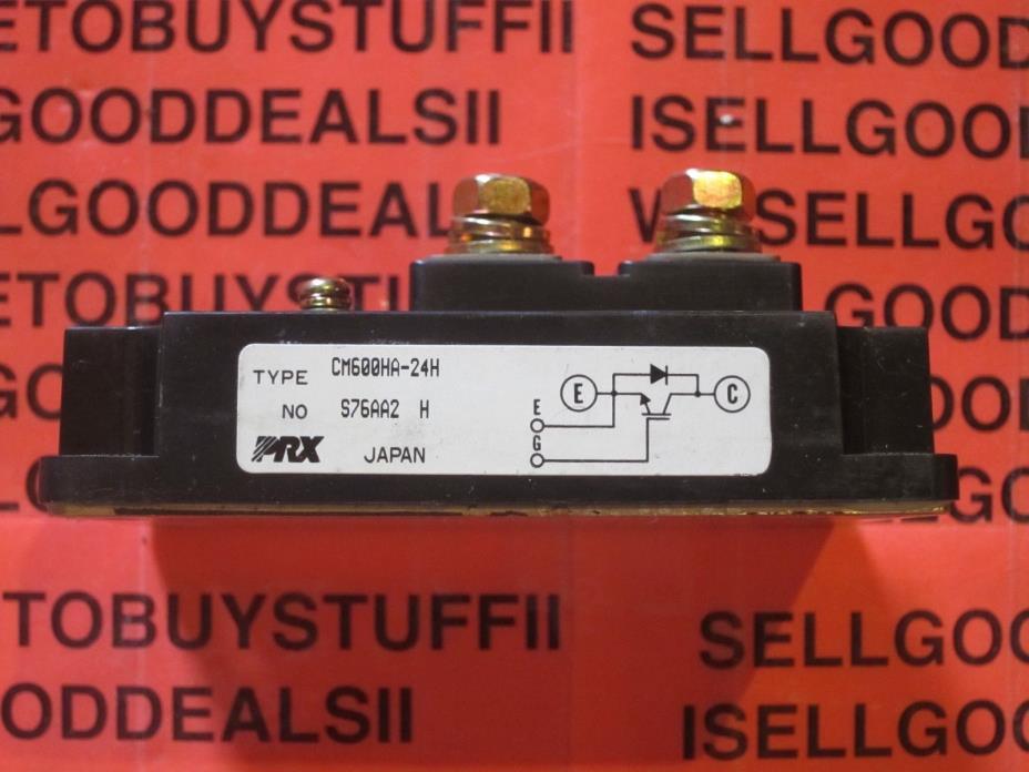 Powerex CM600HA-24H IGBT MODULE 1.2KV 600A CM600HA24H New