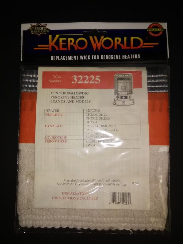 Kero-World KC2400 Wick  # 32225   Dyna Glo RMC-95C Wick   Kero World Wick