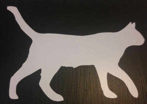 Cat Silhouette Vinyl Sticker
