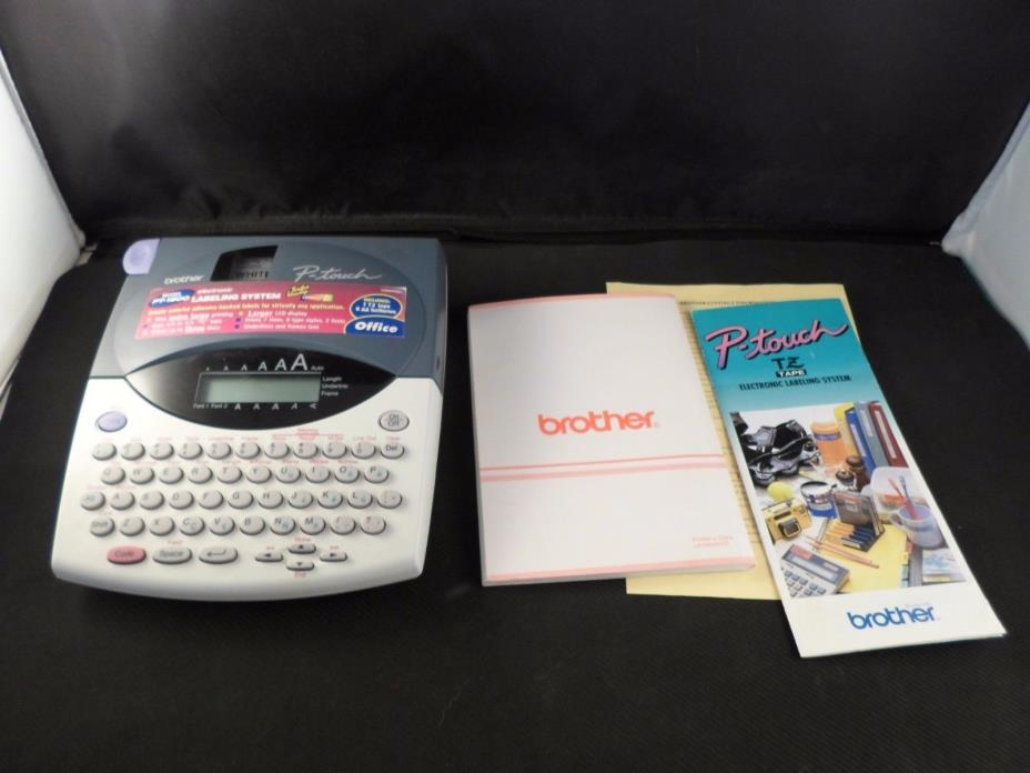 Brother P-Touch Pt-1800/1810 Label Maker Home Office With User's Guide