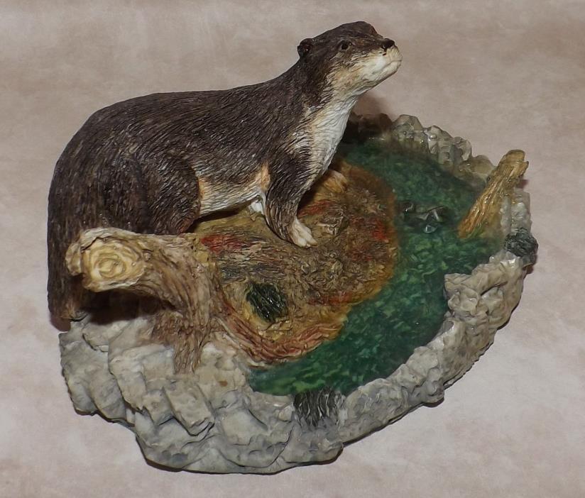Otter Sculpture, Figurine, Large
