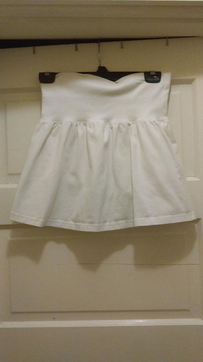 OLD NAVY Girl's Cotton White Skort-SIZE XL (14/16)