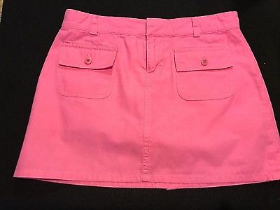 Lilly Pulitzer girls pink skirt sz12