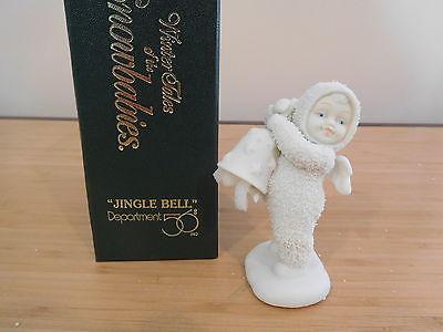 19) Dept 56 Winter Tales of the Snowbabies - Jingle Bell - MIB