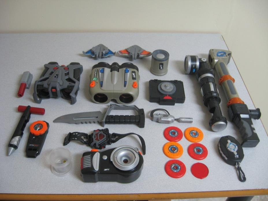 Spy Gear Toys Binoculars Knife Compass Flashlight Telescope Watch Morse Code