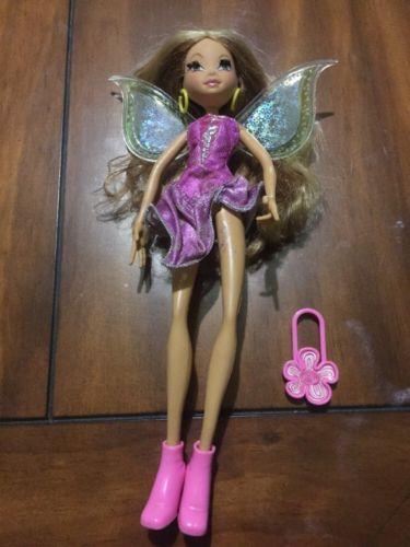 Winx Club Flora Pixie Magic Doll Mattel