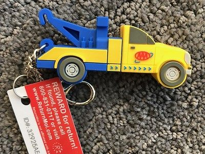 Collectible  AAA  Tow Truck with flashlight (limited promo item)