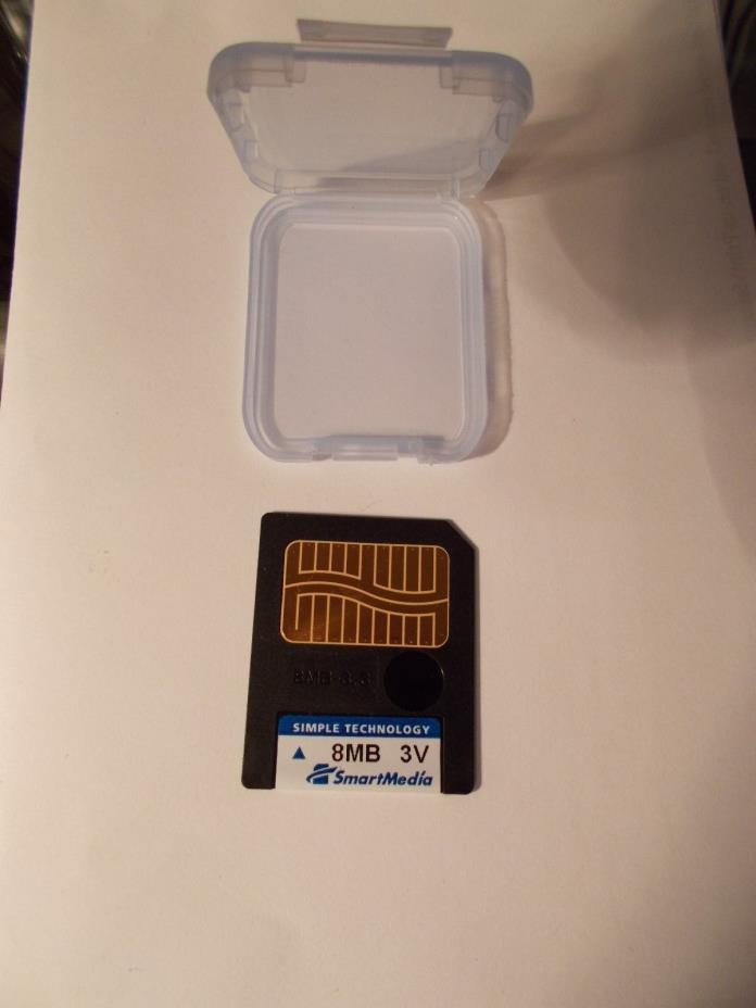 8MB 3V SmarMedia simple technology Memory Card & Case